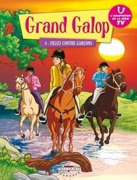 Delcourt - Grand Galop Tome 4 : Filles contre garçons.