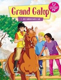 Delcourt - Grand Galop Tome 7 : De l'amour dans l'air.