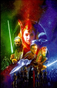 Alixetmika.fr Star Wars Coffret 4 volumes : Episode 1, La menace fantôme - Episode IV, Le nouvel espoir ; Episode V, L'empire contre-attaque ; Episode VI, Le retour du Jedi Image