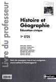 Delphine Acloque et Edith Bomati - Histoire Géographie Education civique 1re ST2S - Livre du professeur.