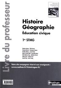 Delphine Acloque et Edith Bomati - Histoire Géographie Education civique 1re STMG - Livre du professeur.