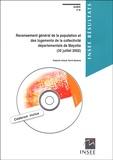 Delphine Artaud et Hervé Bacheré - Recensement général de la population et des logements de la collectivité départementale de Mayotte (30 juillet 2002). 1 Cédérom