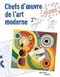 Delphine Badreddine et Lili Scratchy - Chefs d'oeuvre de l'art moderne à colorier.
