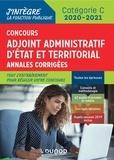 Delphine Belleney et Philippe Boucheix - Concours Adjoint administratif Etat & Territorial Catégorie C - Annales corrigées.