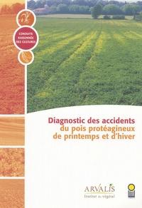 Delphine Bouttet - Accidents du pois protéagineux de printemps et d'hiver.