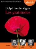 Delphine de Vigan - Les gratitudes. 1 CD audio MP3