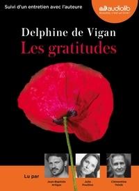 Delphine de Vigan - Les gratitudes. 1 CD audio MP3