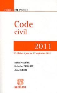 Code civil 2011 - Delphine Dehasse | Showmesound.org