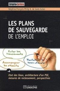 Delphine François-Philip de St-Julien - Les plans de sauvegarde de l'emploi.