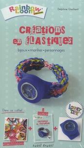 Delphine Glachant - Créations en élastiques - Bijoux, montres, personnages.