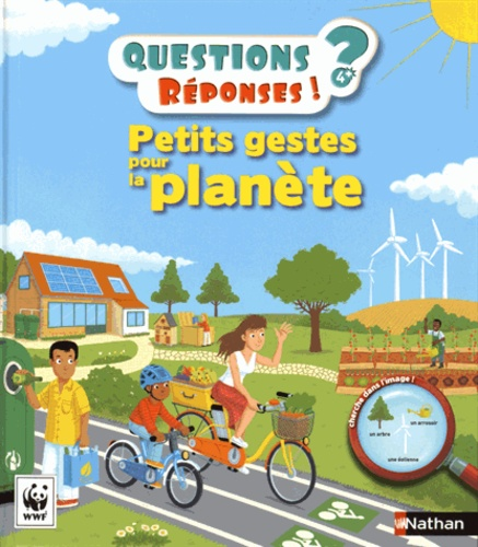 Delphine Godard et Pierre Caillou - Petits gestes pour la planète.