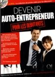 Delphine Gouaty - Devenir auto-entrepreneur pour les débutants. 1 Cédérom