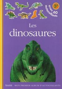 Delphine Gravier - Les dinosaures - Avec 60 autocollants.