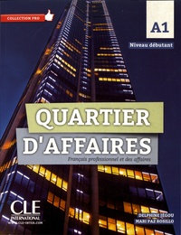 Delphine Jégou et Mari Paz Rosillo - Quartier d'affaires A1 - Français professionnel et des affaires. 1 DVD