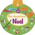 Delphine Lacharron - Mes décorations de Noël avec stickers.