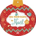 Delphine Lacharron - Mes décorations de Noël - Avec stickers.