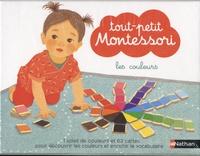 Delphine Roubieu - Les couleurs - Contient : 63 cartes, 1 soleil de couleurs, 1 livret parent.