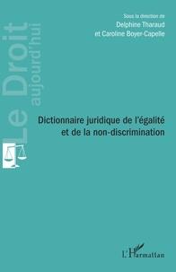 Delphine Tharaud et Caroline Boyer-Capelle - Dictionnaire juridique de l'égalité et de la non-discrimination.