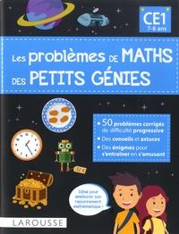 Delphine Urvoy - Les problèmes de maths des petits génies CE1.