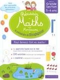 Delphine Urvoy - Réussir en maths avec Montessori et la pédagogie de Singapour - Spécial Grande Section 5-6 ans.