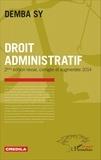 Demba Sy - Droit administratif.