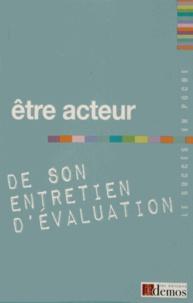 Demos Editions - Etre acteur de son entretien d'évaluation.