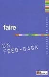 Demos Editions - Faire un Feed-Back.
