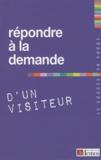 Demos Editions - Répondre à la demande d'un visiteur.