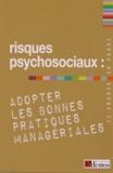 Demos Editions - Risques psychosociaux : adopter les bonnes pratiques managériales.