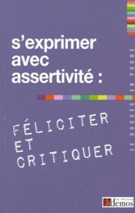 Sexprimer avec assertivité : féliciter et critiquer.pdf
