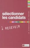 Demos Editions - Sélectionner les candidats à recevoir.