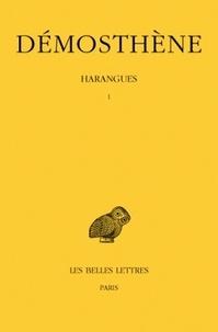 Démosthène et M. Croiset - Harangues tome 1.