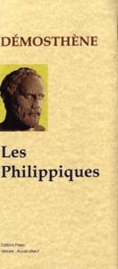Démosthène - Les Philippiques.