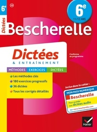 Denis Anton - Bescherelle dictées 6e.