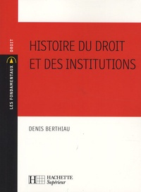 Checkpointfrance.fr Histoire du droit et des institutions Image