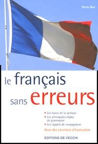 Denis Bon - La français sans erreurs.