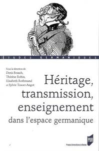 Alixetmika.fr Héritage, transmission, enseignement dans l'espace germanique Image