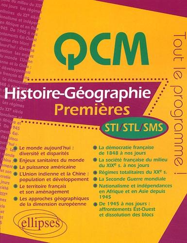 Denis Carzon - QCM Histoire-Géographie 1e STI, STL, SMS.