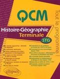Denis Carzon - QCM Histoire-Géographie Tle STG.