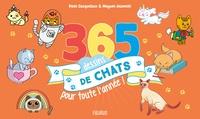 Denis Cauquetoux et Mayumi Jezewski - 365 dessins de chats pour toute l'année.