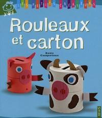 Denis Cauquetoux - Rouleaux et carton.