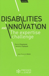 Histoiresdenlire.be Disabilities and innovation: the expertise challenge - Volume 1 Image