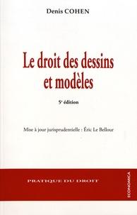 Le droit des dessins et modèles - Denis Cohen pdf epub