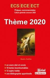 L'animal- Prépas commerciales ECS/ECE/ECT concours culture générale - Denis Collin |