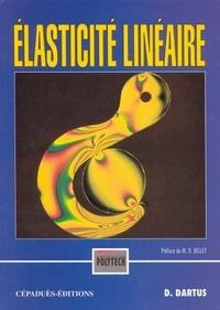 Denis Dartus - Elasticité linéaire.