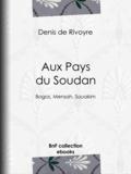 Denis de Rivoyre - Aux Pays du Soudan - Bogos, Mensah, Souakim.