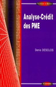 Denis Desclos - Analyse-crédit des PME.