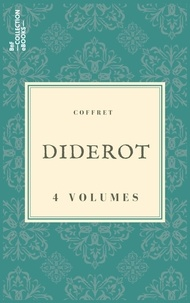 Denis Diderot - Coffret Diderot - 4 textes issus des collections de la BnF.