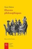 Denis Diderot - Oeuvres philosophiques.