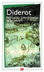 Deedr.fr Pensées sur l'interprétation de la nature Image